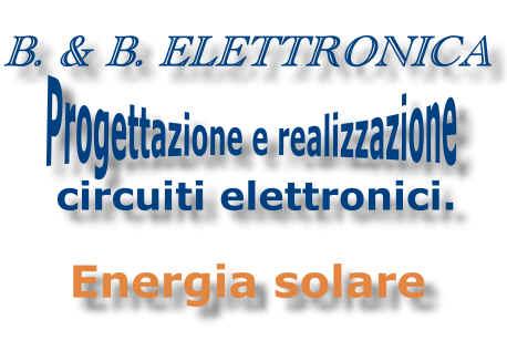 Ditta che ha voluto indirizzare la propria esperienza per sfruttare l'energia del sole per produrre energia gratuita per qualsiasi utenza e servizio.